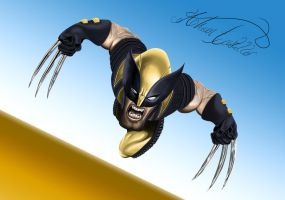 Wolverine Caricature by SWAVE18