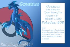 Oceanus 2nd Evolution by Rubydragoon4444