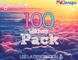 {Pack +100 Watchers} by MelFerreyra
