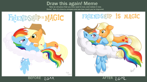 Draw It Again - Appledash by RatofDrawn