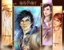 .: Harry and Friends :. by Tarot7