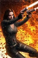 Black Widow by erlanarya
