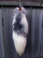 Marble Fox Tail - For Sale! A first for my shop. by SPWilder