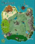 The Wings of Fate Series: Salinet Map by Deswin