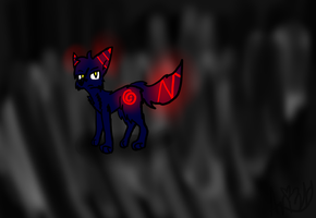 .:CE:. Valrus the evil wolf~ by Alljammedout55