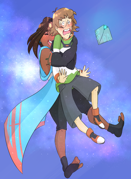 .:Bear Hugging Space Nerds :. by alexpc901