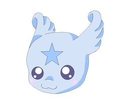 BlueStarmon by HeroHeart001