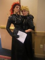 AAC: Axel and Roxas by DarkMythril