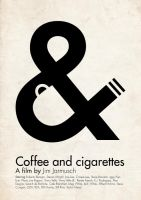 'Coffee and cigarettes' poster by Hertzen
