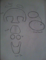 Kitty Fursuit - Head Template, Small Ver. by myinsanebestfriend