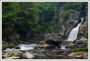 Linville Falls 2006 by TRBPhotographyLLC