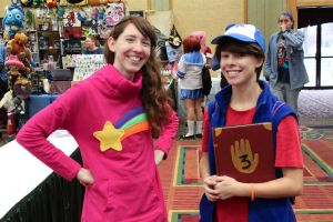 Gravity Falls: Mystery Twins by LadyEmrys
