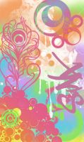 Happy Abstract by sanxi