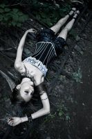 Gothic Girl lost in the darken world_2011_014 by Angel-Thanatos