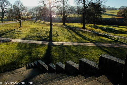 The Long Shadows of Early Winter by Odd-Day