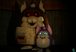 Mama and Tattletail~sfm by Laukku2000