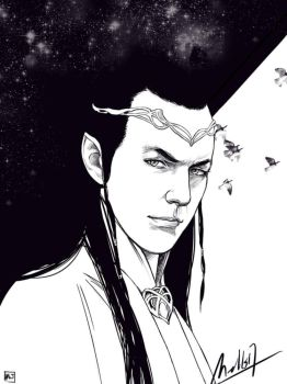 Elrond by MellorianJ