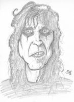 Alice Cooper by yoeh