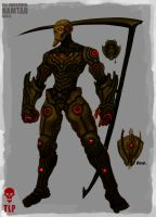 4 Horsemen Death Namtar Armor by The-Last-Phantom