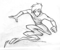 Danny Phantom pencils by jack0001