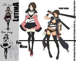 Fuu Moon New Design by FF69