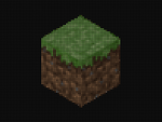 Wallpaper Minecraft Dirt Block by electropeppers