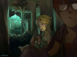 Yoosung Route Day 9-10 by nasikepal