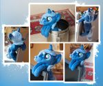 Filly Princess Luna (S.1) Companion Pony Plush by navkaze