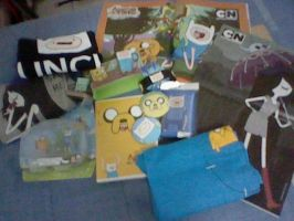MY ADVENTURE TIME COLLECTION by Cokedark11