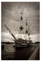 Petersburg.Ship-Restaurant. by deus-and-silma