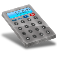 Calculator dock icon by Ornorm