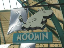 Moomin Shop sign, Covent Garden by ggeudraco