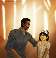 Lee and Clementine by Arabesque91
