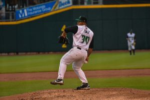 Pedro Diaz - Dayton Dragons by PLutonius