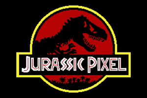 Jurassic Pixel (Red) by HuntersAndPrey
