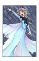 QueenElsa by SerenaGuerra