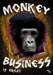 Monkey business is great flyer concept by iosonosmashboy