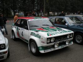 Fiat 131 Abarth Rally Alitalia by franco-roccia