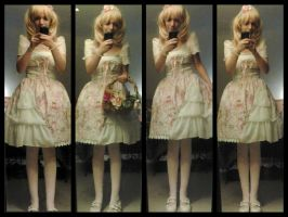 Fairy inspired lolita coordinate :) by xSaVaNnAbaNaNaX