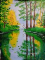 Forest Lake by valilia