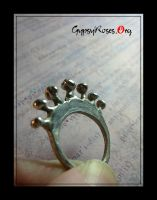 Crown Ring in SS by che4u