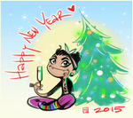 HNY2015 by Creature13