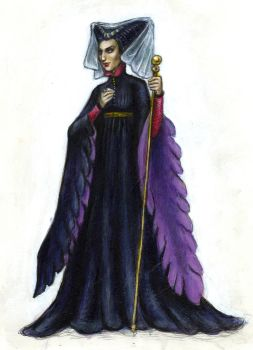 Medieval Maleficient by suburbanbeatnik
