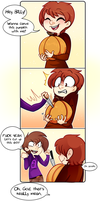 Carving Pumpkins by MimiMarieT