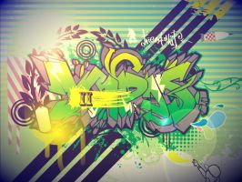 digital graff job by MasterminDcrew