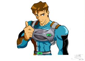 Max Steel by SantillanStudio
