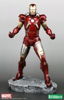 The Avengers 2012 Iron Man Mk VII Armored Suit (4) by Scarlighter