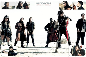 Pentatonix and Lindsey Stirling - Radioactive by Nestorladouce