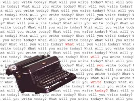 What Will You Write Today? 1 by brightshadows