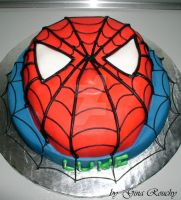 Spiderman Cake by ginas-cakes
